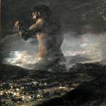 (Goya) The Colossus, 1808-1812. Museo Nacional del Prado