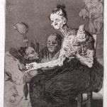 (Goya) 48 Soplones, 1799. Eames Fine Art