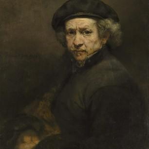 (Rembrandt) Self Portrait, 1659. National Gallery of Art, Washington